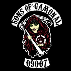 Diseño Sons of Gamonal - Manojito de Claveles