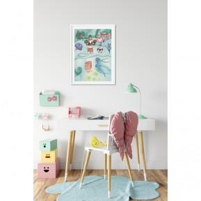 Lámina infantil Polo Norte decorando tu habitación