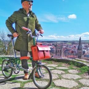 Bolso para bicicletas Brompton