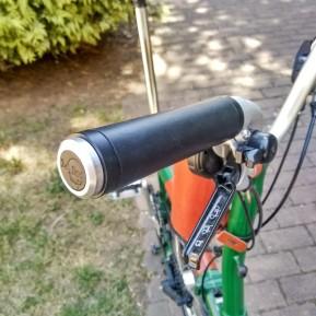 Puños para bicicleta marrones