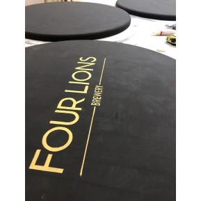 Rotulación mesas