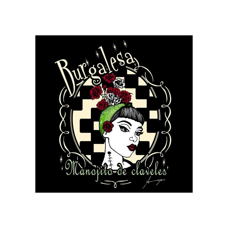 Diseño Burgalesa - Manojito de Claveles