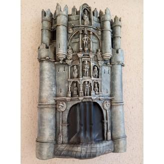 Arco Santa María recreado en teja artesanal