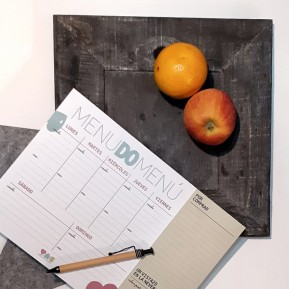OPCIÓN F - Planner de menú semanal
