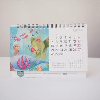 Calendario de mesa opción B