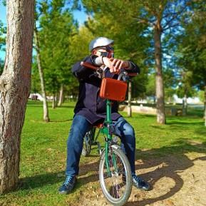 Bolso para manillar de bicicleta