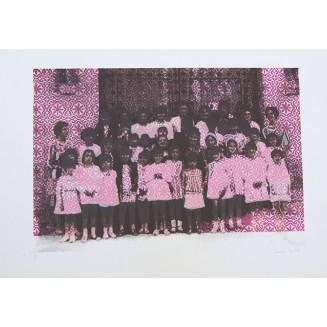 Azulejos I. 50 x 32,5 cm. Soporte Papel. Edición: 1/2