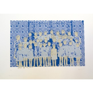 Azulejos II. 50 x 32,5 cm. Soporte Papel. Edición: 1/2